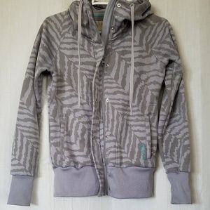 Billabong polyester hoodie. Size S